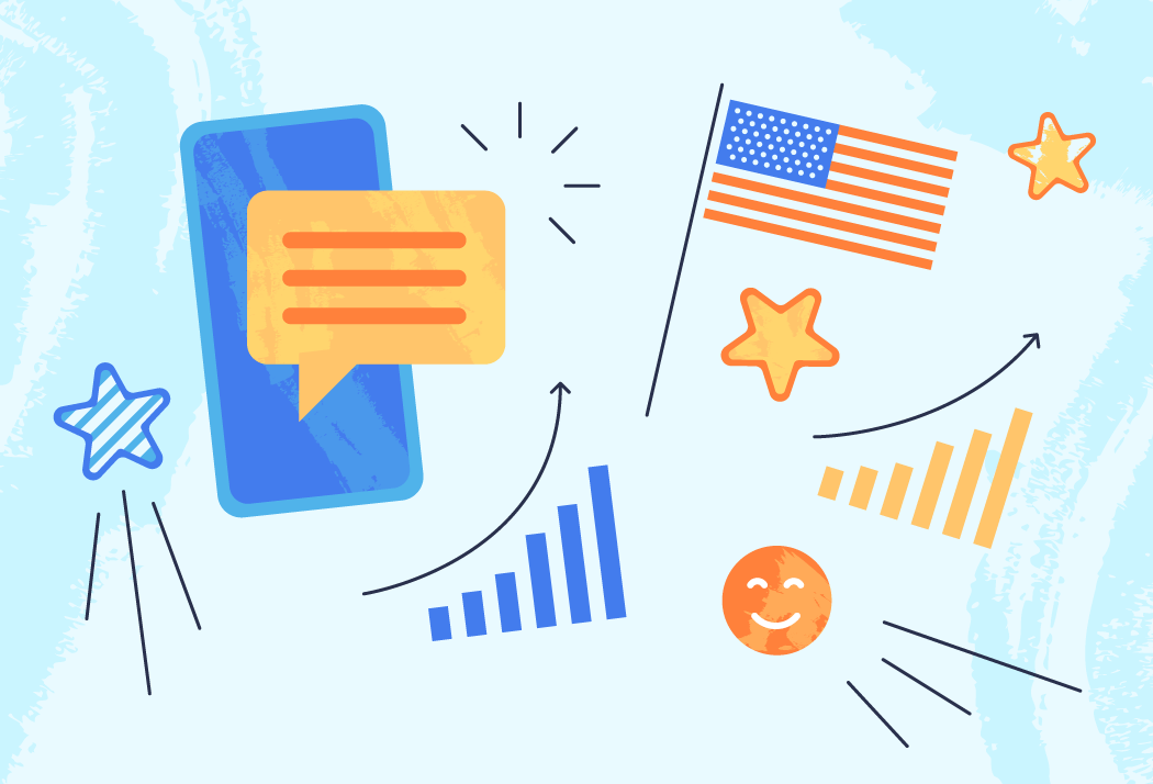 Skyrocket your sales this 4th July with SMS templates from Tobi!