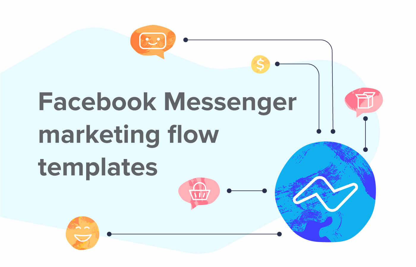 3 ready to use Facebook Messenger marketing flow templates