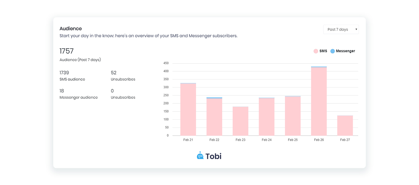 Tobi audience insights
