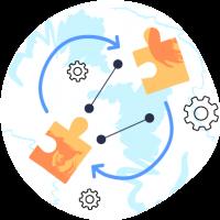 Integrates with Shopify Plus flow app